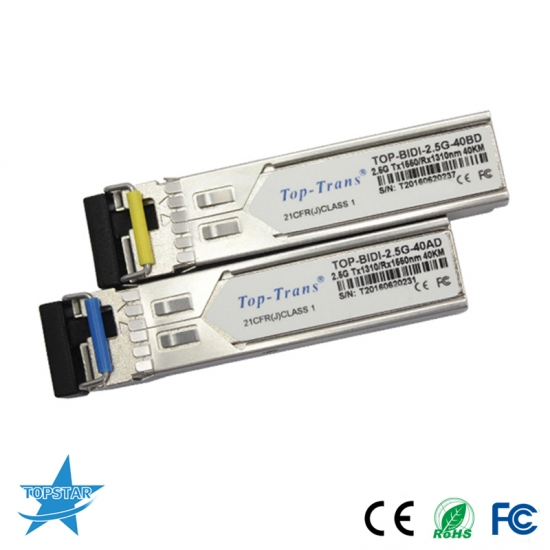 2,5g multi-rate bidi sfp