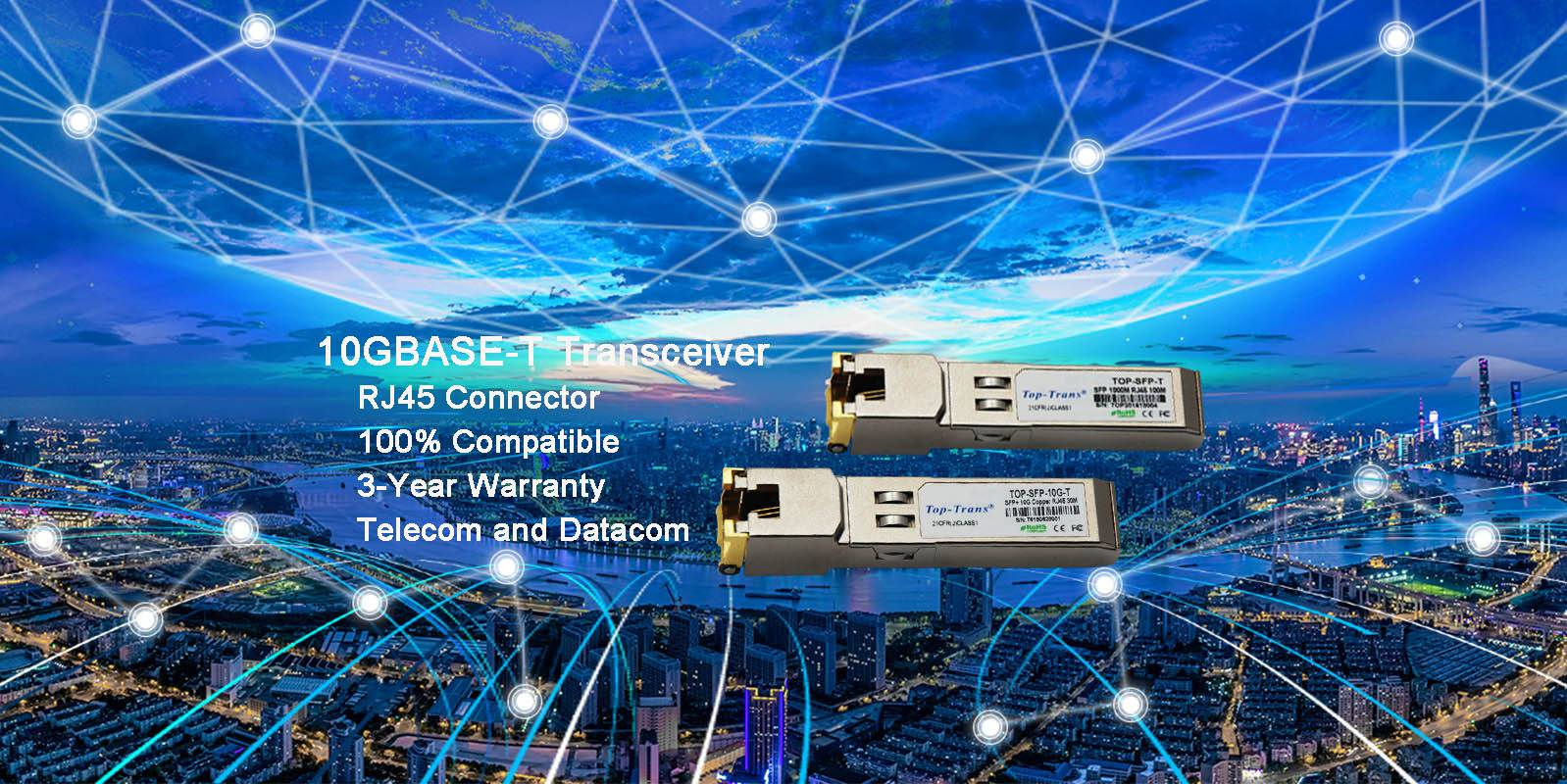 10GBASE-T Transceiver